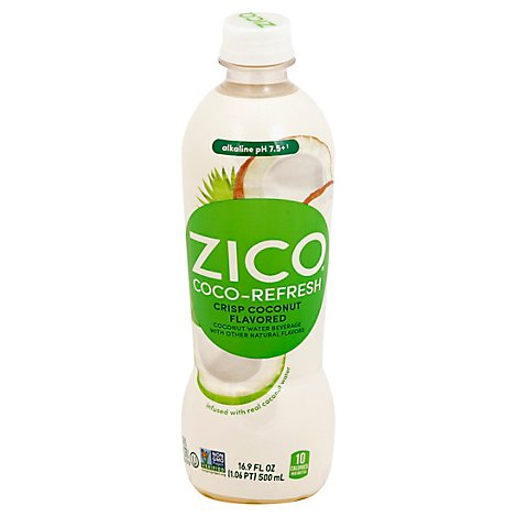 Zico Coco Refresh Crisp Coconut - 16.9 Fl. Oz.