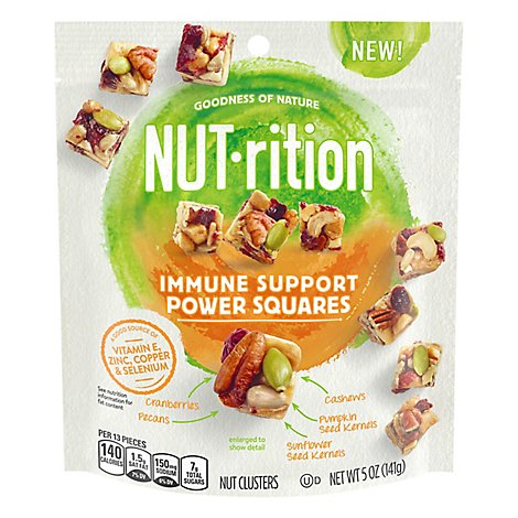 Planters Nut Rition Snack Nuts Immune Support Immune Support - 5 Oz