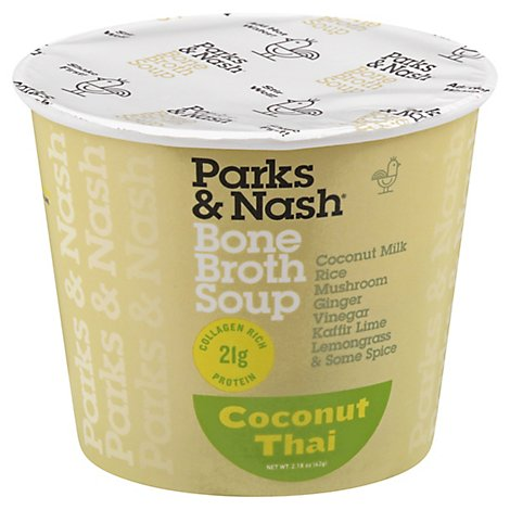 Parks & Nash Soup Bone Broth Coconut Thai - 2.18 Oz