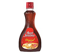 Aunt Jemima Original Syrup Plastic Bottle - 12 Fl. Oz.