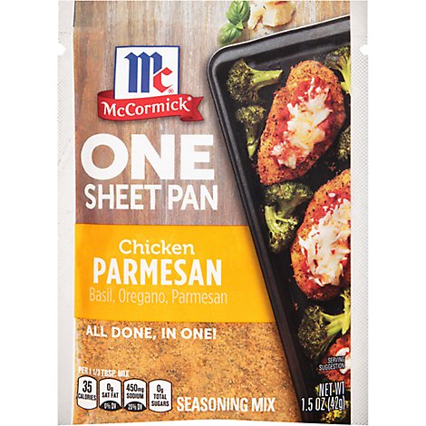 McCormick Seasoning Mix Chicken Parmesan One Sheet Pan - 1.5 Oz