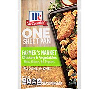McCormick Seasoning Mix Farmers Market Chicken & Vegetables One Sheet Pan - 1.25 Oz
