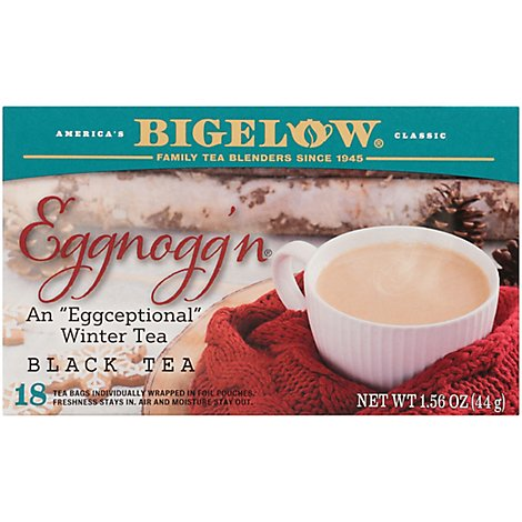 Bigelow Eggnoggn Black Tea - Each