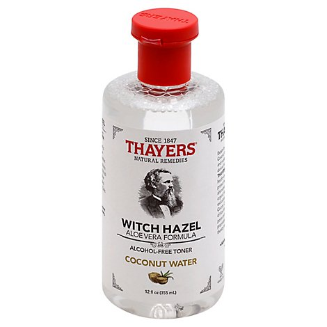 Thayer Witch Hazel Ccnt Aloe Tnr - 12 Oz
