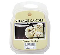 Village Candle Warm Creamy Vanilla Candle 2.2oz - Each