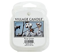 Village Wax Melts Pure Linen - 2.2 Oz