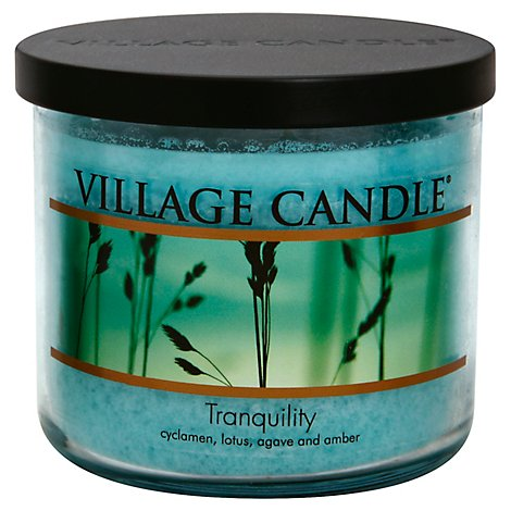 Village Candle Bowl Tranquility - 17 Oz