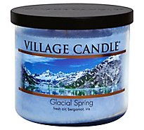 Village Candle Decor Bowl Spr Glc - 17 Oz