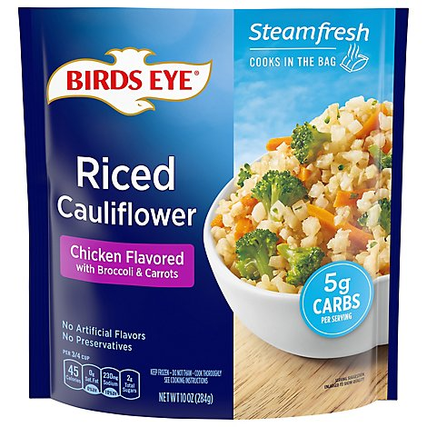 Birds Eye Chicken Flavor Rice Cauliflowe - 10 Oz