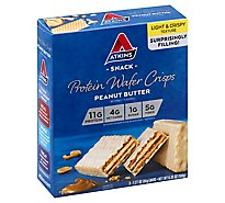 Atkins Wafer Peanut Butter Vanilla 5pk - 5-1.27 Oz