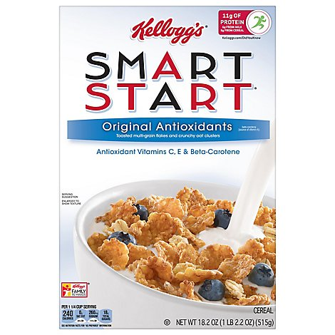 Kelloggs Smart Start Breakfast Cereal Original Antioxidants Box - 18.2oz
