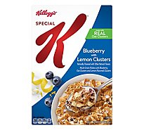 Special K Breakfast Cereal Blueberry with Lemon Clusters - 12.8 Oz