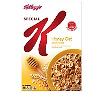 Kelloggs Special K Breakfast Cereal Honey Oat Box - 13.2oz