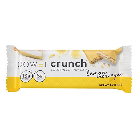 Power Crunch Energy Bar Protein Lemon Meringue - 1.4 Oz