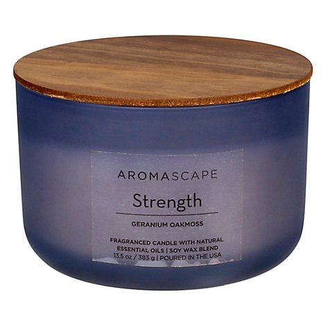 Aromascape Candle Strength - 13.5 Oz
