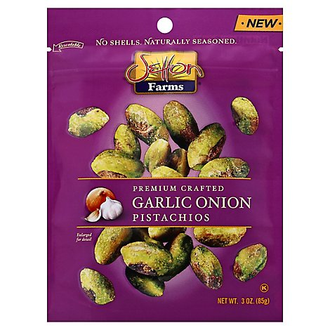 Setton Farms Pistachios Garlic Onion - 3 Oz