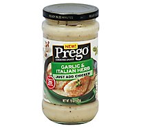 Prego Sauces Garlic Herb - 15 Oz