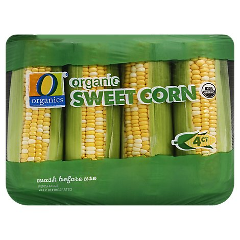 O Organics Sweet Corn - 4 Count