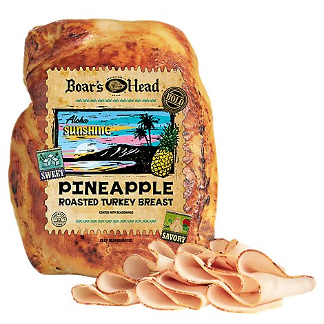 Boars Head Aloha Sunshine Turkey Breast - 0.50 LB