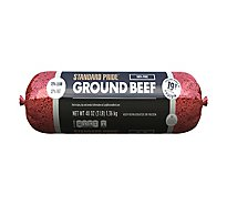 73% Lean 27% Fat Ground Beef Chub - 3 Lbs.