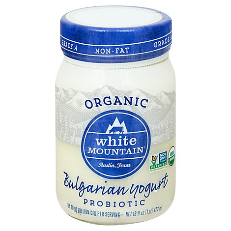 White Mou Yogurt Bulgarian Nf Org - 16 Oz