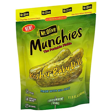 Kosher Dill Minis In Pouches 6/12.6 Fl Oz - 12.6 Fl. Oz.