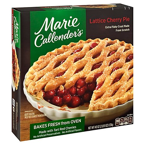 Marie Callenders Lattice Cherry Pie - 40 Oz