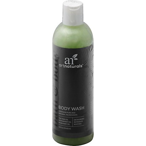 Art Naturals Tea Tree Body Wash - 12 Fl. Oz.