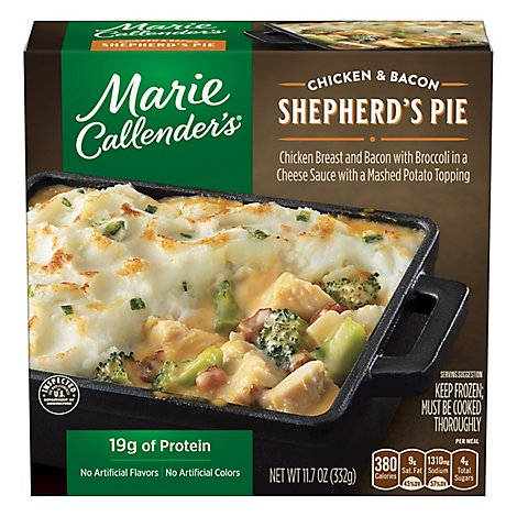 Marie Callenders Chicken & Bacon Shepherds Pie - 11.7 Oz