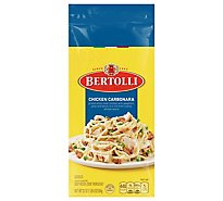 Bertolli Chicken Carbonara Frozen Meals With Spaghetti Peas And Bacon - 22 Oz