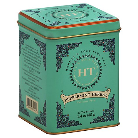 Harney &  Tea Ht Peppermint - 20 Count