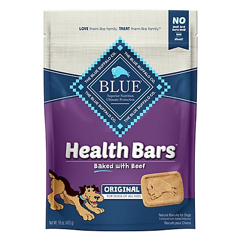 Blue Buffalo Health Bars Beef - 16 Oz