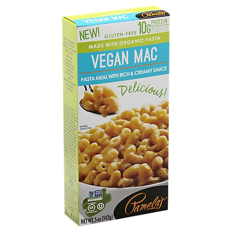 Pamelas Pasta Vegan Mac Meal - 5 Oz
