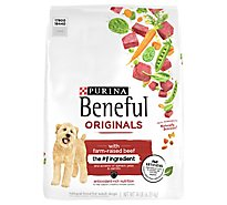 Purina Beneful Dog Food Dry Original With Real Beef - 14 Lb