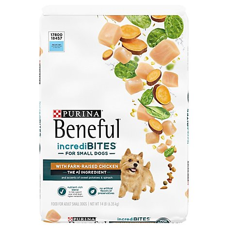 Purina Beneful Dog Food Dry Incredibites Chicken - 14 Lb