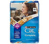 Cat Chow Cat Food Dry Complete Chicken - 15 Lb