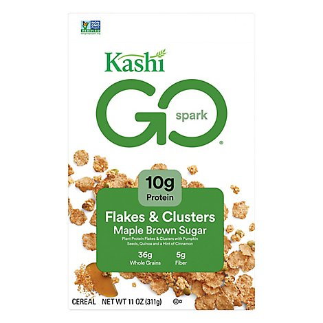 Kashi Golean Cereal Maple Brown Sugar - 11 Oz
