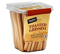 Signature Select Breadsticks Toasted Tub - 7 Oz