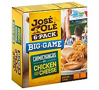 Jose Ole Chicken And Cheese Chimichanga Multi Pack - 30 Oz