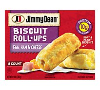 Jimmy Dean Egg Ham & Cheese Biscuit Roll-Ups 8 Count