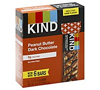 KIND Bar Peanut Butter Dark Chocolate - 6-1.4 Oz