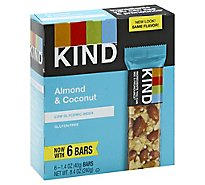 KIND Bar Almond & Coconut - 6-1.4 Oz