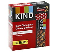 KIND Bars Dark Chocolate Cherry Cashew - 6-1.4 Oz