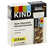 KIND Bar Dark Chocolate Almond Coconut - 6-1.4 Oz