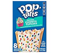 Pop-Tarts Toaster Pastries Frosted Confetti Cupcake 8 Count - 13.5 Oz