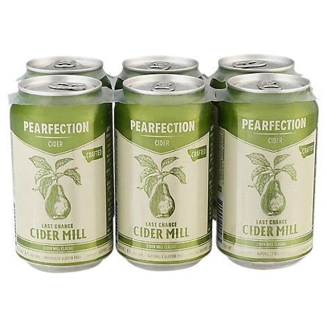 Last Chance Cider Mill Pearfection In Cans - 6-12 Fl. Oz.