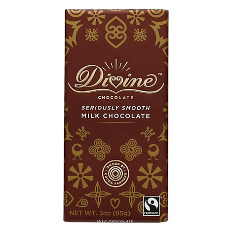 Divine Ch Choc Bar Milk - 3 Oz