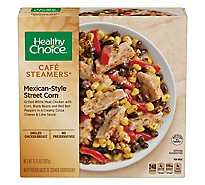 Healthy Choice Cafe Steamers Street Corn Mexican Style - 9.25 Oz