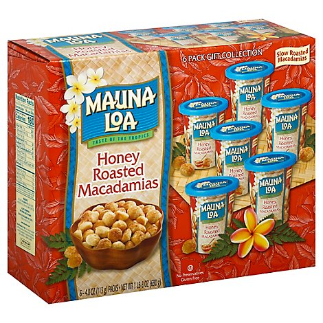 Mauna Loa Honey Roast Mailer 6pk - 24 Oz