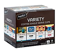 Signature SELECT Coffee Single Serve Cups Variety 36 Count - 14.6 Oz